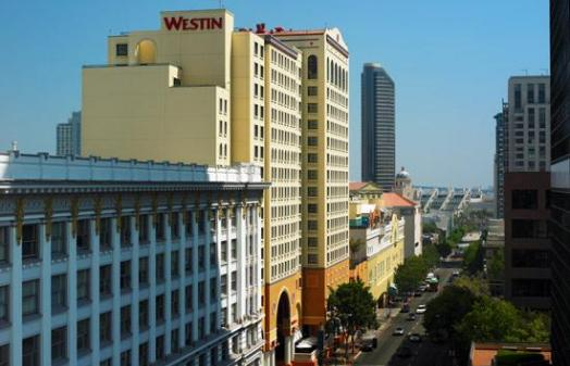 The Westin Gaslamp Quarter Hotel Exterior