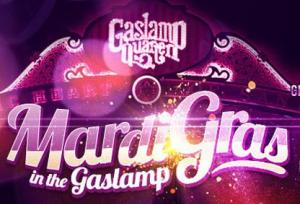 Mardi Gras in the Gaslamp