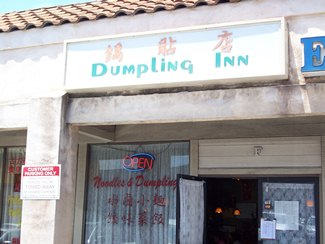 The 10 tables at Dumpling Inn are almost always full.