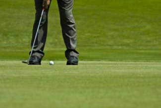 A player has the option to finish a putt