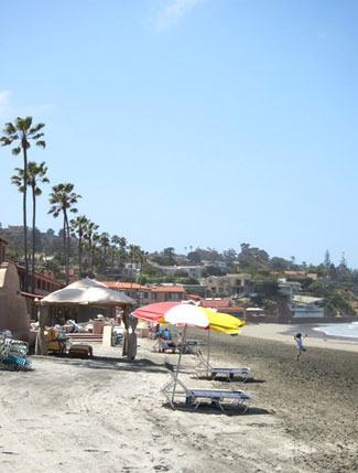 The La Jolla Beach & Tennis Club is a hotel and an exclusibe private club.