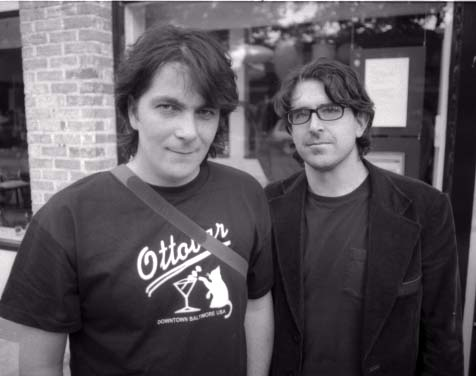 Jason Loewenstein and Lou Barlow