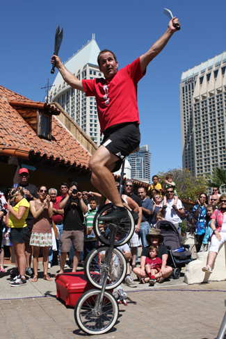 The Spring Busker Festival is expected to draw more than 14,000 people.
