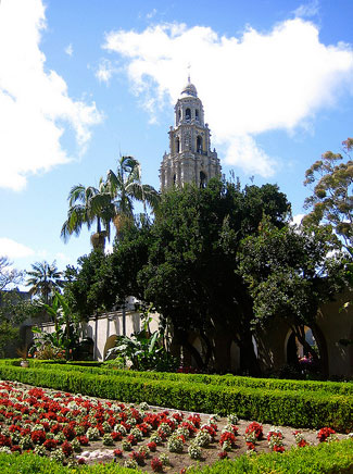 Balboa Park is home to a variety of exotic gardens.