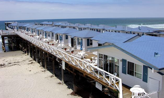 Crystal pier hotel cottages for Crystal pier fishing