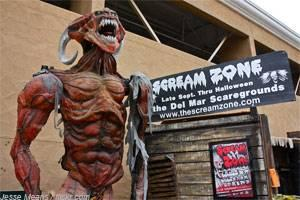 Scream Zone Del Mar San Diego CA