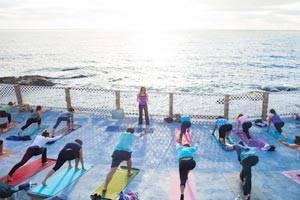 Mid week retreats oceanfront yoga in san diego for Yoga retreat san diego