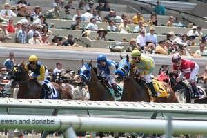 Opening Day at the Del Mar Race Track