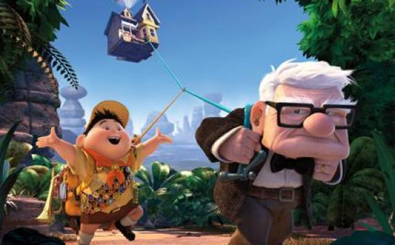 """(L-R) Russell and Carl in """"Up."""""""