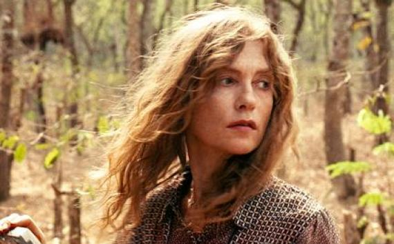 "Isabelle Huppert as Maria Vial in ""White Material."""