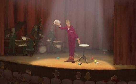 """A scene from the film """"The Illusionist."""""""