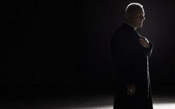 """Anthony Hopkins as Father Lucas in """"The Rite."""""""
