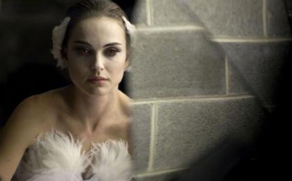 "Natalie Portman as Nina in ""Black Swan."""