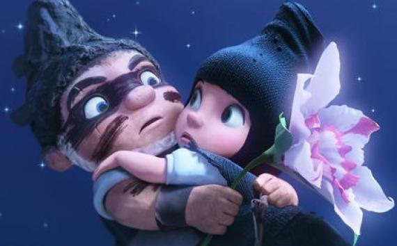 "A scene from ""Gnomeo and Juliet."""