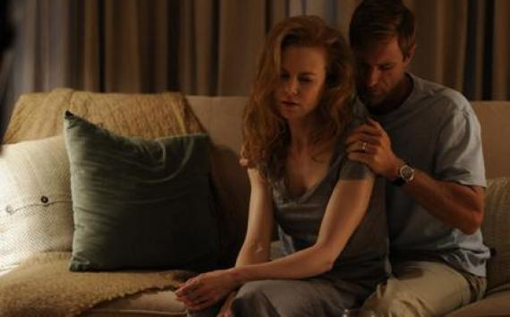"(L-R) Nicole Kidman as Becca and Aaron Eckhart as Howie in ""Rabbit Hole."""