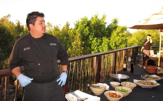 Executive Chef Alex Carballo