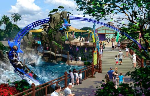 Seaworld San Go Coaster
