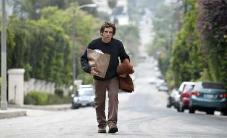 "Ben Stiller as Roger in ""Greenberg."""