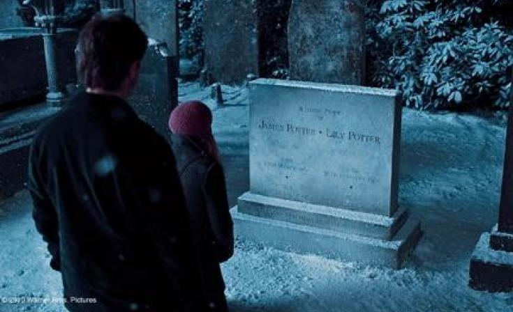 """A scene from the film """"Harry Potter and the Deathly Hallows: Part 1."""""""