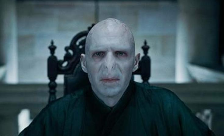 """Ralph Fiennes as Voldemort in """"Harry Potter and the Deathly Hallows: Part 1."""""""