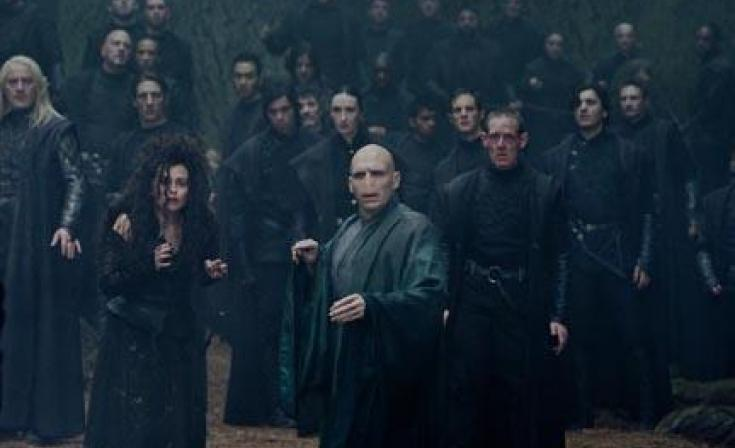 """A scene from """"Harry Potter and the Deathly Hallows: Part 2."""""""