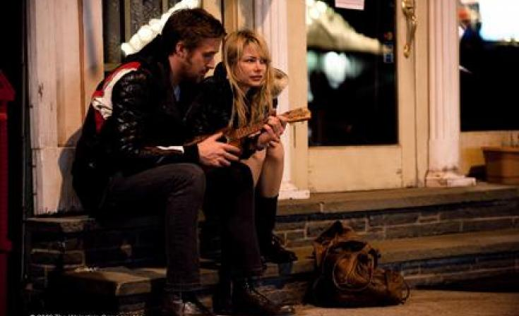 """(L-R) Ryan Gosling as Dean and Michelle Williams as Cindy in """"Blue Valentine."""""""