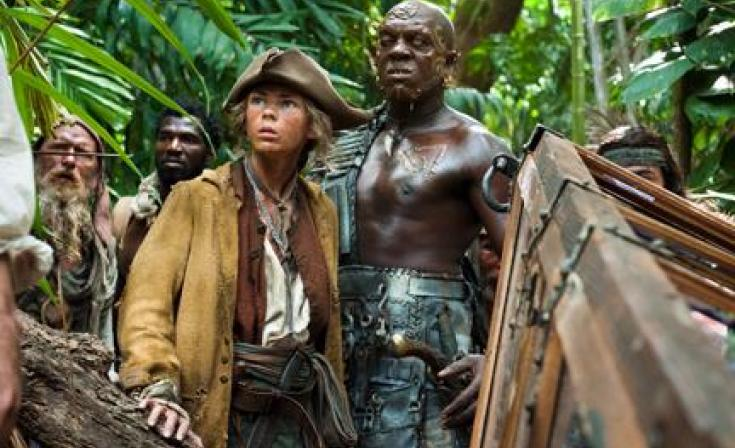 """A scene from """"Pirates of the Caribbean: On Stranger Tides."""""""