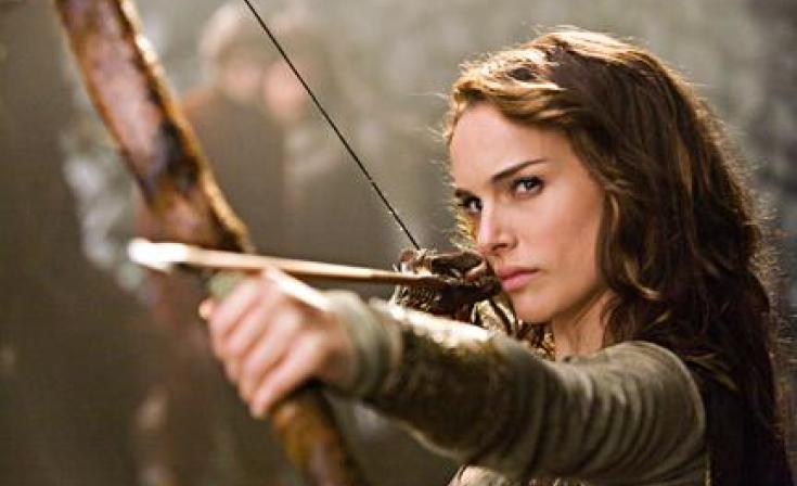 "Natalie Portman as Isabel in ""Your Highness."""