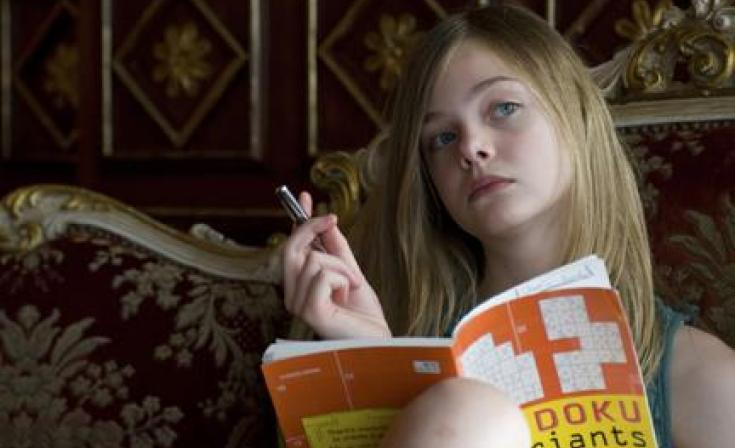 "Elle Fanning as Cleo in ""Somewhere."""