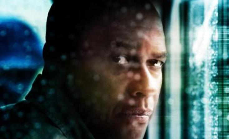 "Denzel Washington as Frank in ""Unstoppable."""