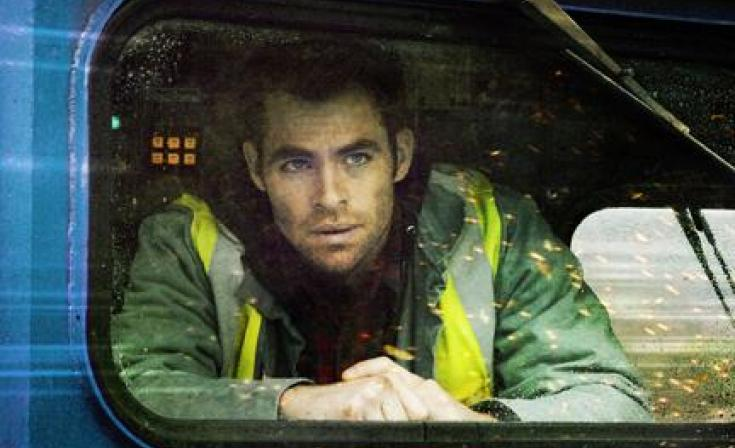 "Chris Pine as Will in ""Unstoppable."""