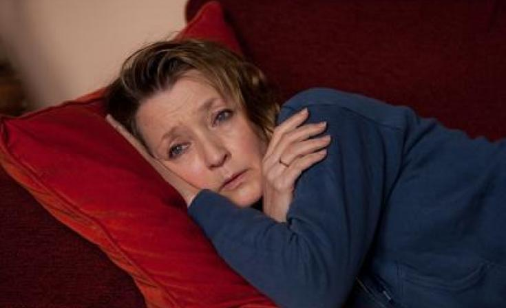 """Lesley Manville as Mary in """"Another Year."""""""