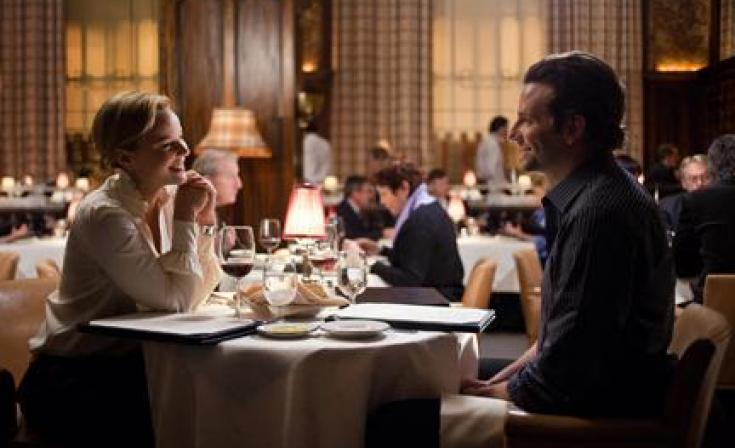 """Abbie Cornish as Lindy and Bradley Cooper as Eddie Morra in """"Limitless."""""""