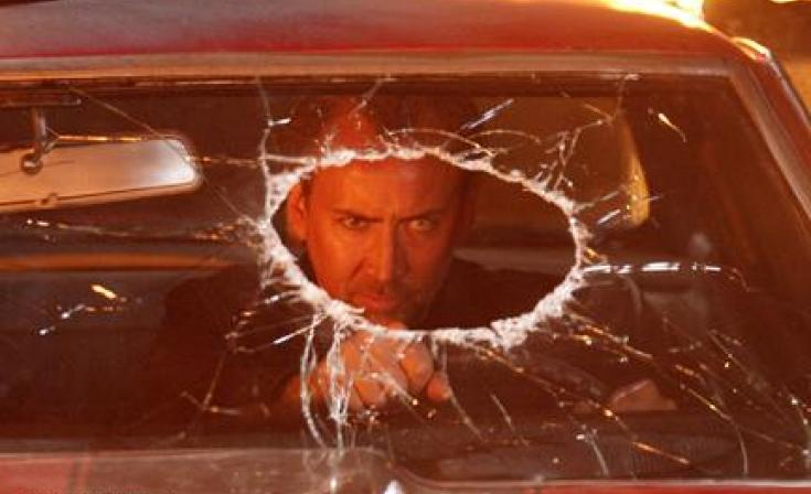 """Nicolas Cage as Milton in """"Drive Angry."""""""