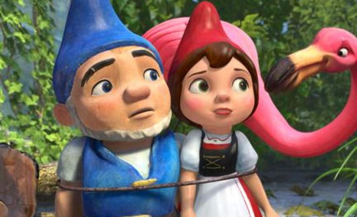 """Gnomeo and Juliet in """"Gnomeo and Juliet."""""""