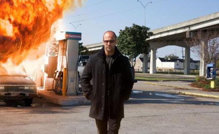 "Jason Statham as Arthur Bishop in ""The Mechanic."""