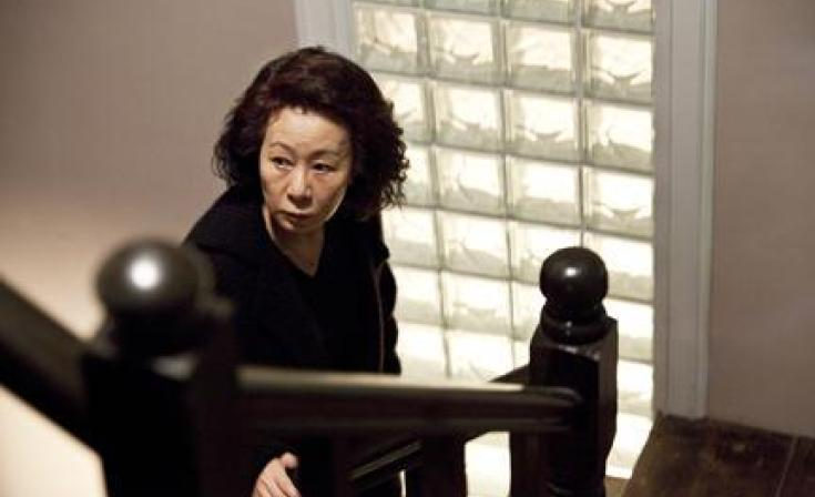 Youn Yuh-Jung as Byung-Sik in ``The Housemaid.''