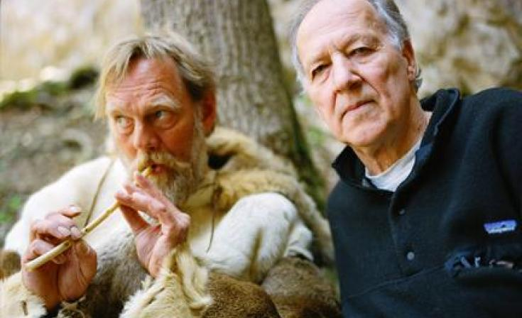 """(L-R) Wulf Hein and Werner Herzog in """"Cave of Forgotten Dreams."""""""