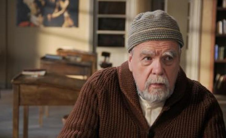 """Michael Lonsdale as Luc in """"Of Gods and Men."""""""