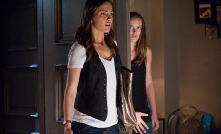 """(L-R) Minka Kelly and Leighton Meester in """"The Roommate."""""""