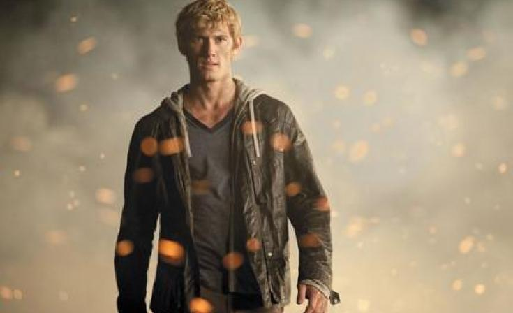 """Alex Pettyfer as John in """"I Am Number Four."""""""