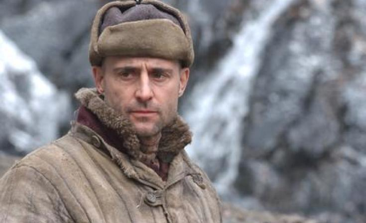 "Mark Strong as Khabarov in ""The Way Back."""