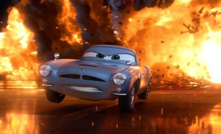 """Finn McMissile in """"Cars 2."""""""