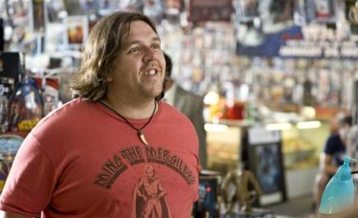 """Nick Frost as Clive Gollings in """"Paul."""""""