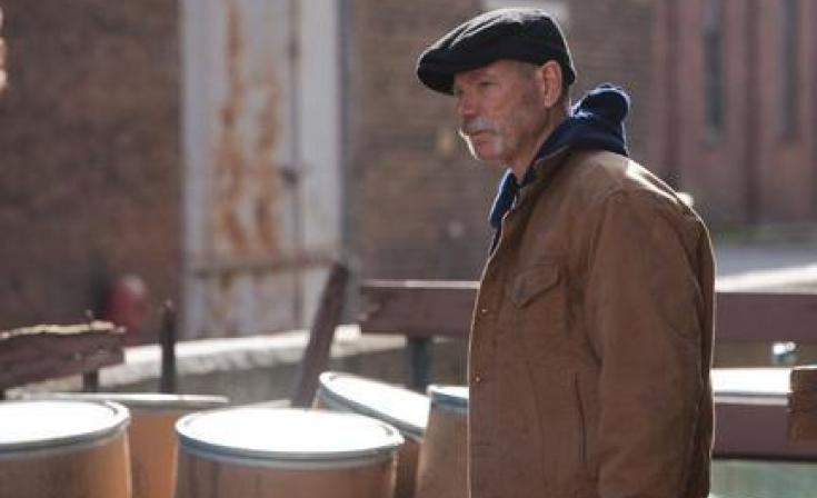 "Stephen Lang as Patrick Leary in ""White Irish Drinkers."""