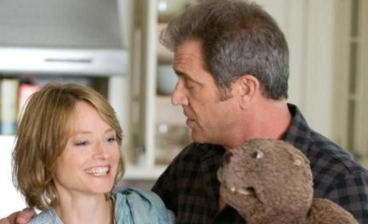 """Jodie Foster as Meredith Black and Mel Gibson as Walter Black in """"The Beaver."""""""
