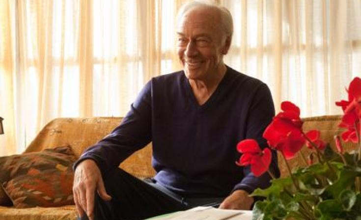 "Christopher Plummer as Hal in ""Beginners."""
