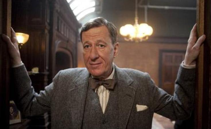 """Geoffrey Rush as Lionel Logue in """"The King's Speech."""""""