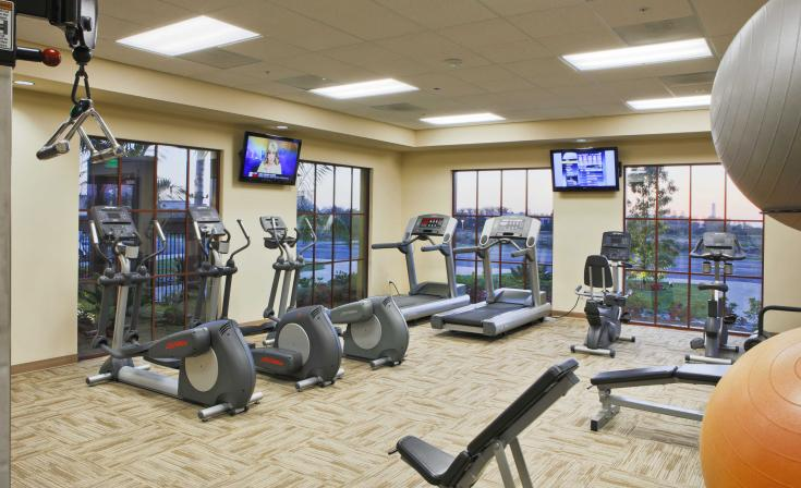 Fitness Center at The MarBrisa