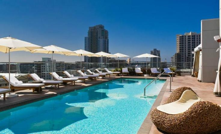 Labor Day Pool Party at Andaz Hotel